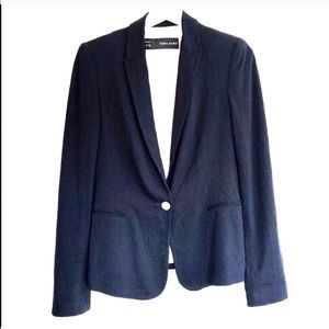 Zara Basic Single Vent Stretch Comfort Blazer